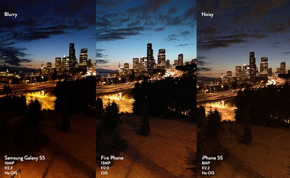 Amazon Fire Phone Camera Image Results Comparison with iPhone 5S and Galaxy S5