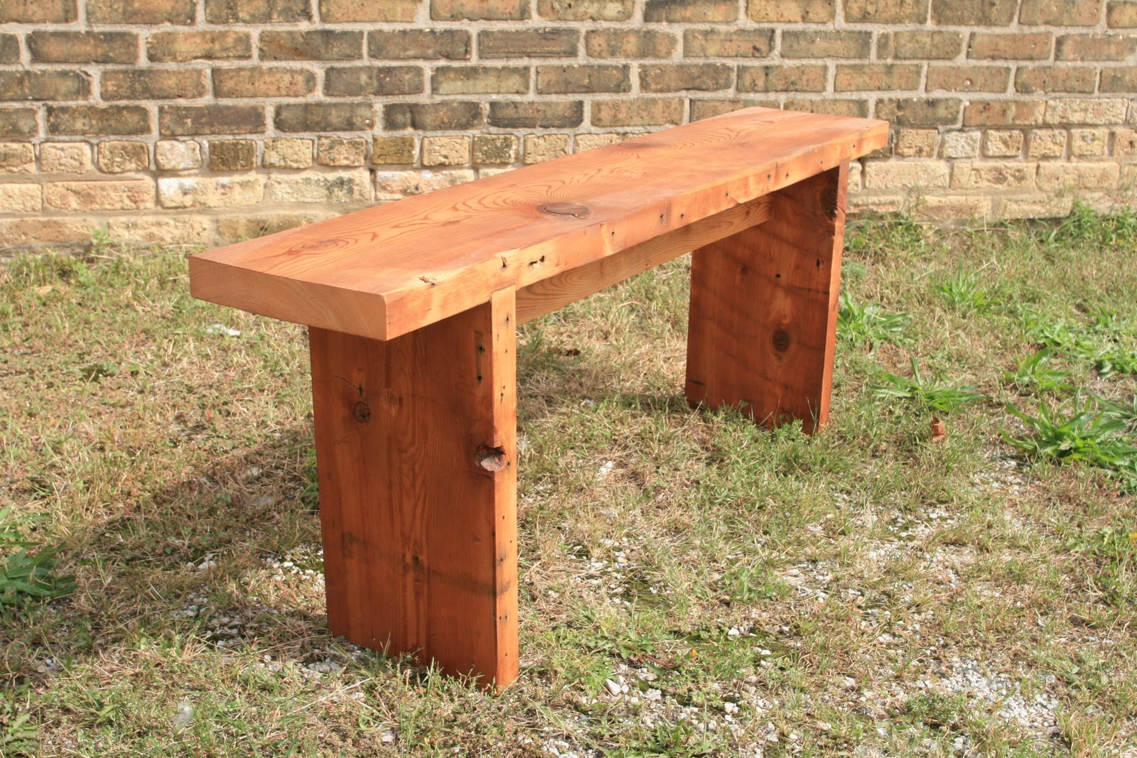 Fantastic Wooden Bench Making Solid Timber Sleeper Benches In The Gmtry Best Dining Table And Chair Ideas Images Gmtryco