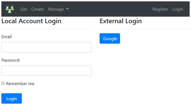 asp.net core google authentication