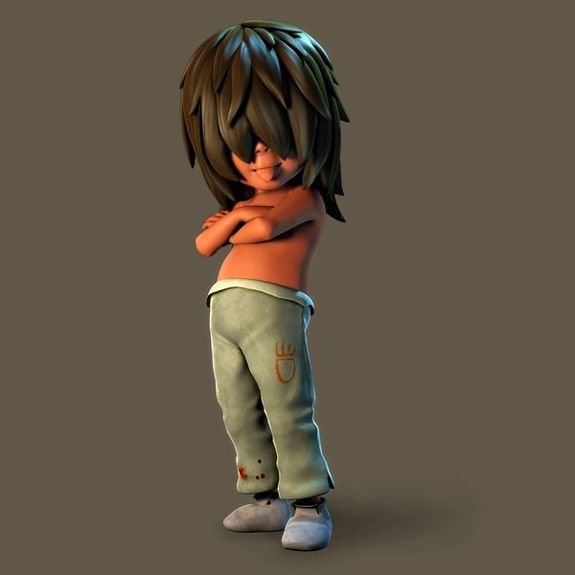 Incredibly funny 3d cartoon characters cgfrog 18 boy 3d cartoon character malvernweather Images