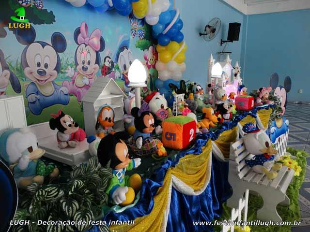 Decoração infantil Baby Disney - Mesa temática de aniversário