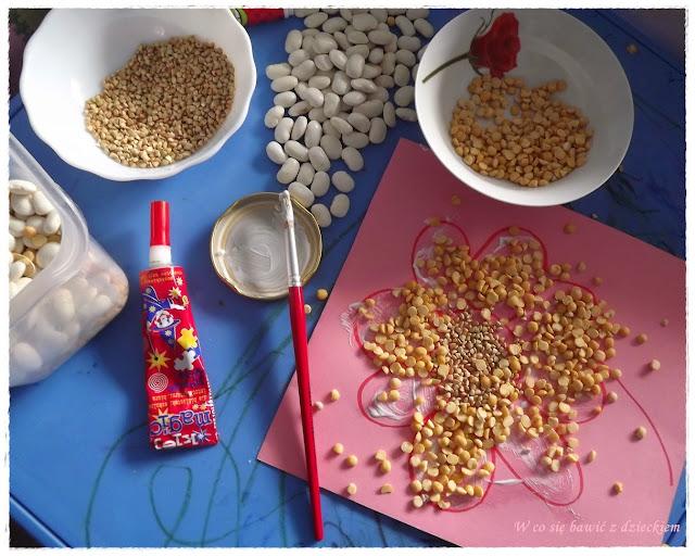 zabawy sensoryczne w kuchni