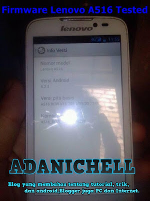 Firmware Lenovo A516 Tested Google Drive