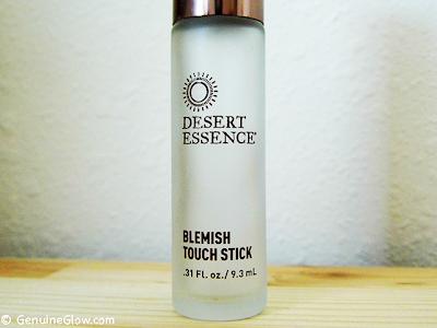 Genuine Glow Skin Savers Desert Essence Blemish Touch Stick