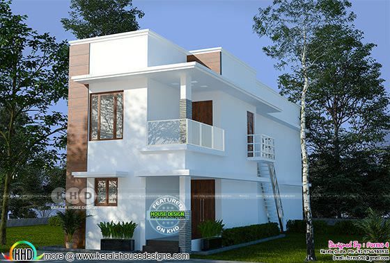 Contemporary  simple,elegant budget oriented design.22 lakhs