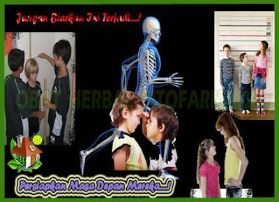 kalsium anak, tulang badan anak, tinggi badan anak, pertumbuhan tulang anak