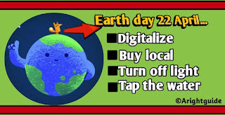 Earth day tips,earth day, 22 April, google doodle earth day,earth,save earth,conserve  environment.