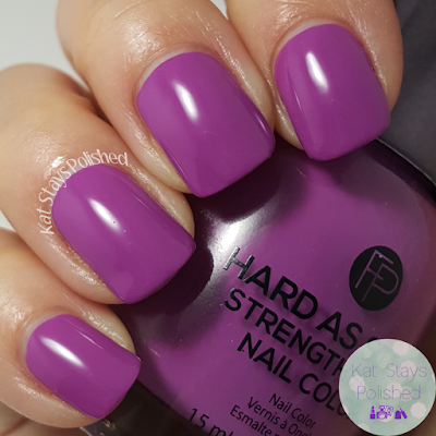 FingerPaints Hard As Steel - Lavender Brushstrokes | Kat Stays Polished