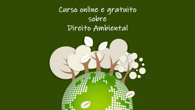 Curso de Direito Ambiental online e gratuito