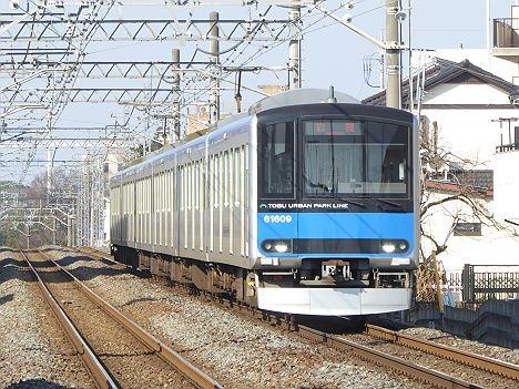 東武野田線 岩槻行き 60000系