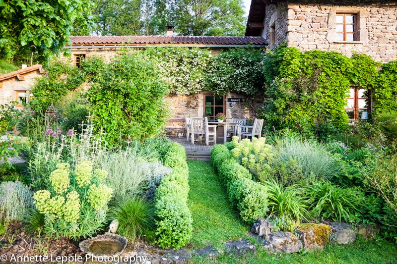 Mas de b ty el jard n de annette lepple en francia for Annette moreno y jardin