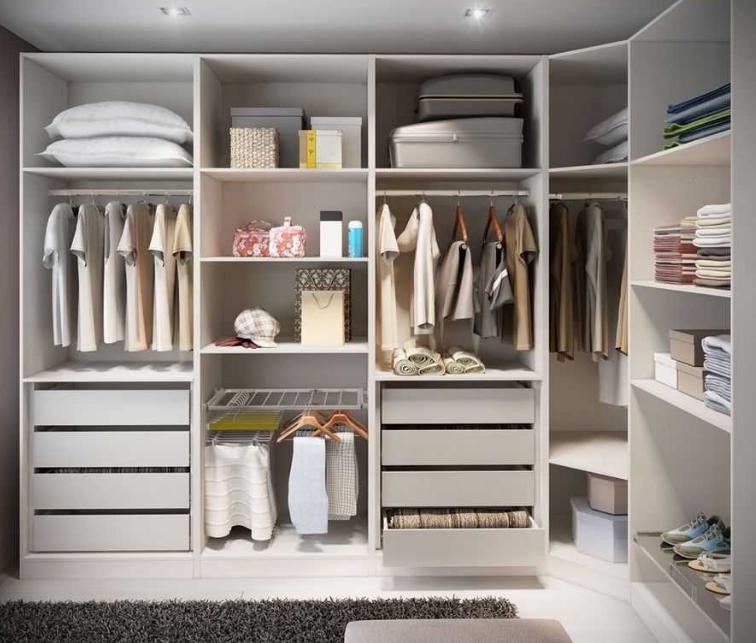 gambar lemari pakaian terbaru 2018 untuk ruangan sempit