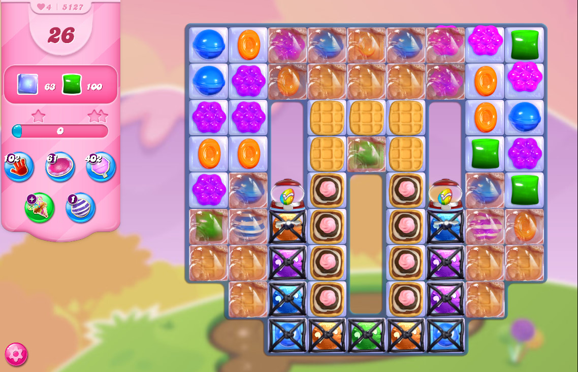 Candy Crush Saga level 5127