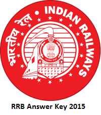 RRB Answer Key 2015 Solved Question Paper