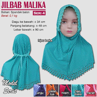 Jilbab anak terbaru lucu dan imut - malika seri 4