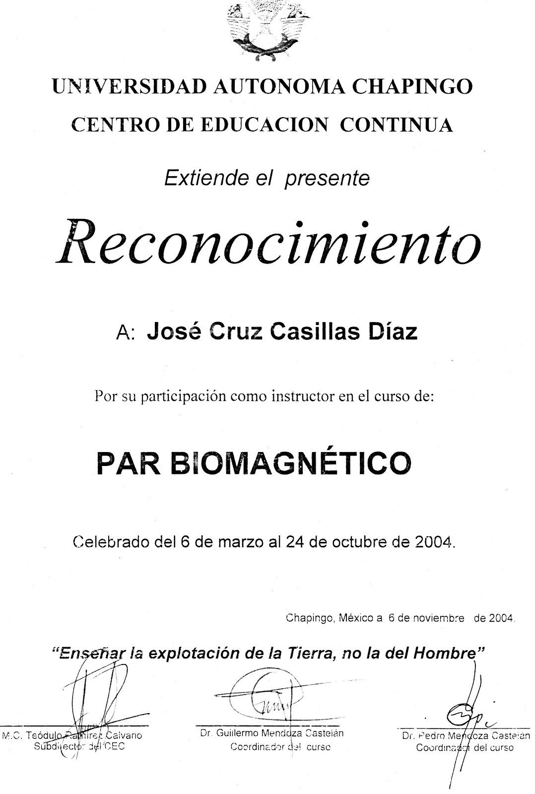 Cursos De Biomagnetismo