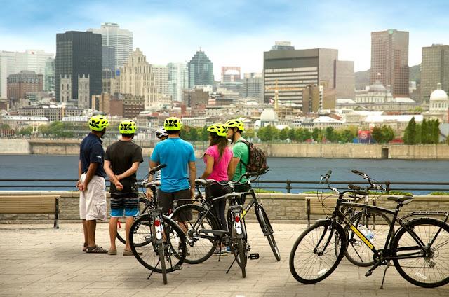 Tour de bicicleta em Montreal