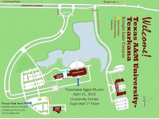 Texas Am Campus Map.Texarkana A M Club