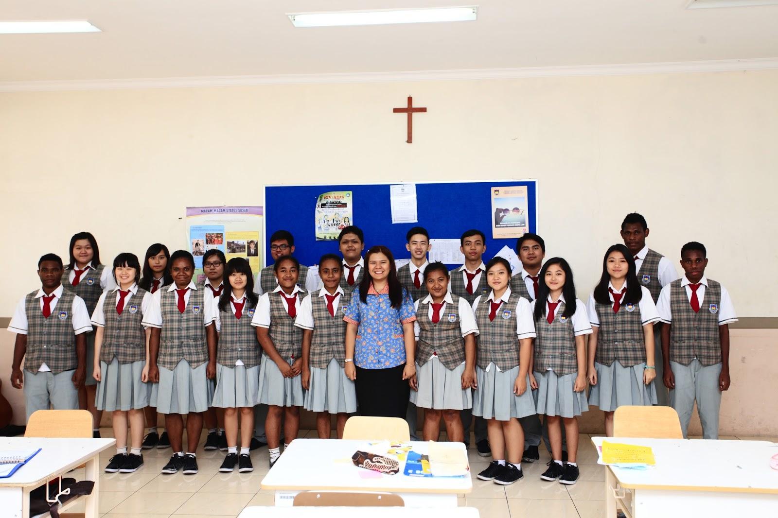 foto kelas angkatan 2015 2016 smpk smak bpk penabur sukabumi