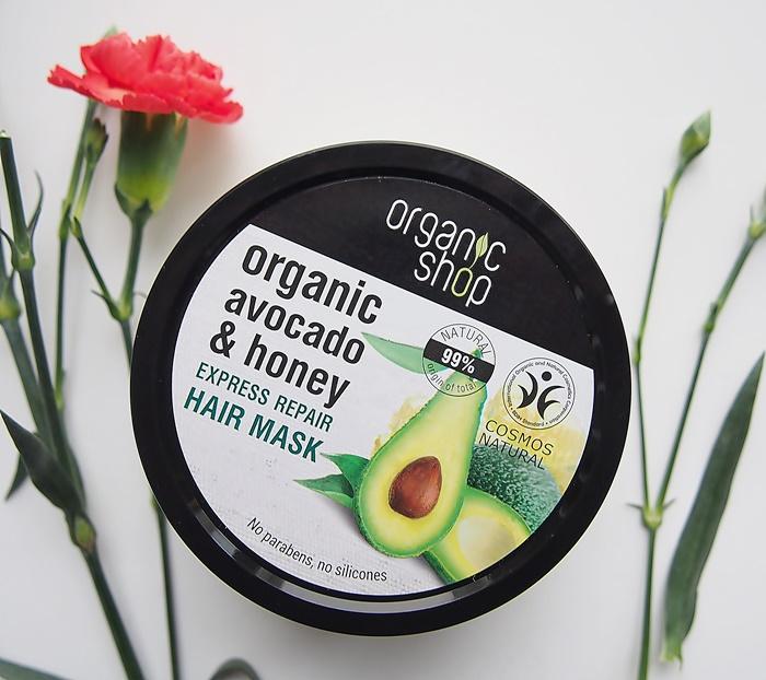 organic shop hiusnaamio avocado