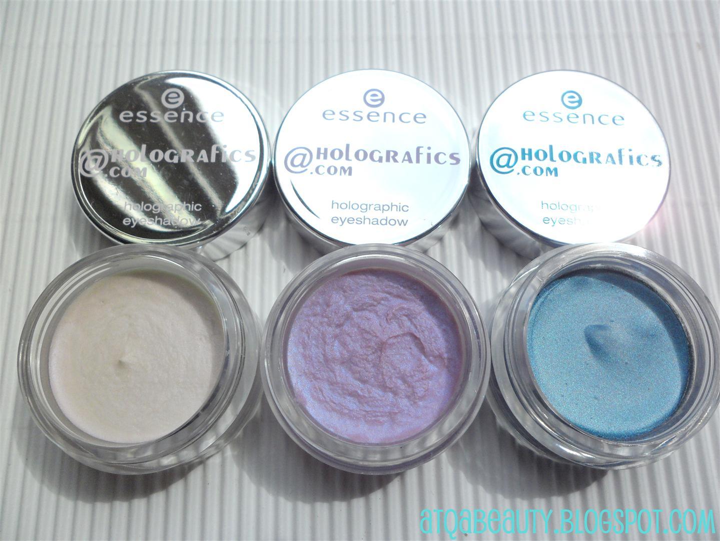 "Makijaż :: Essence ""meet_me@holografics.com"" – holograficzne cienie"