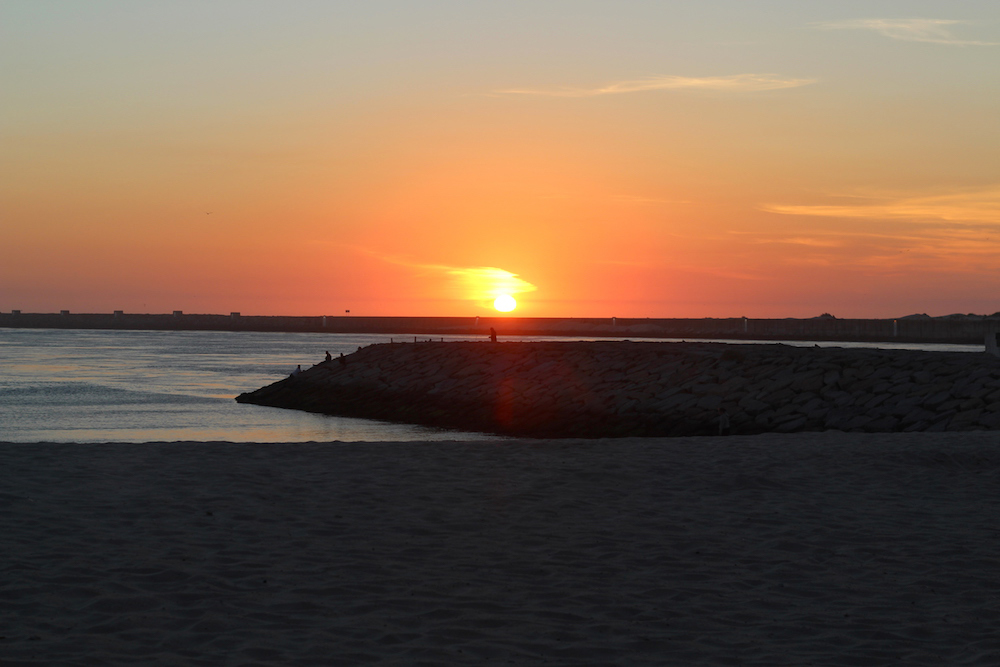 aveiro portugal praia da barra