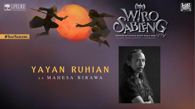 Yayan Ruhian sebagai Mahesa Birawa/ Sumber foto @LifeLikePictrs