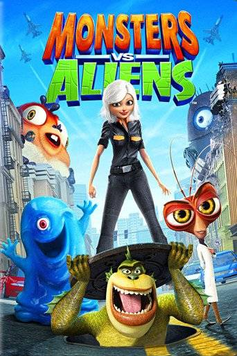 Monsters vs Aliens (2009) ΜΕΤΑΓΛΩΤΙΣΜΕΝΟ ταινιες online seires xrysoi greek subs