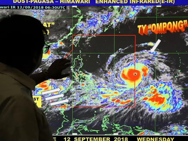 Philippine brace for typhoon