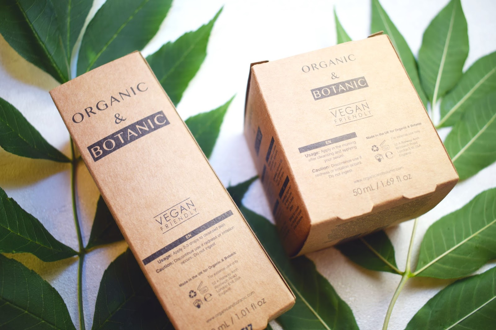 lebellelavie - Enhancing my skin with Organic & Botanic skincare