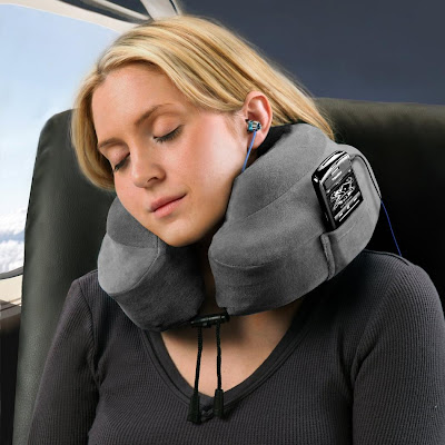Travel Gadgets That Makes You Sleep Better - Memory Foam Neck Pillow