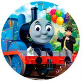 Oblea para tartas Thomas y sus amigos