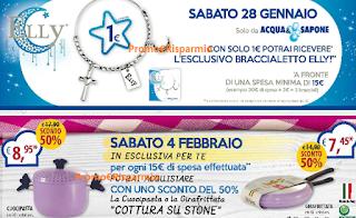Logo Acqua&Sapone ti regala il bracciale Elly, il Cuocipasta o Girafrittata