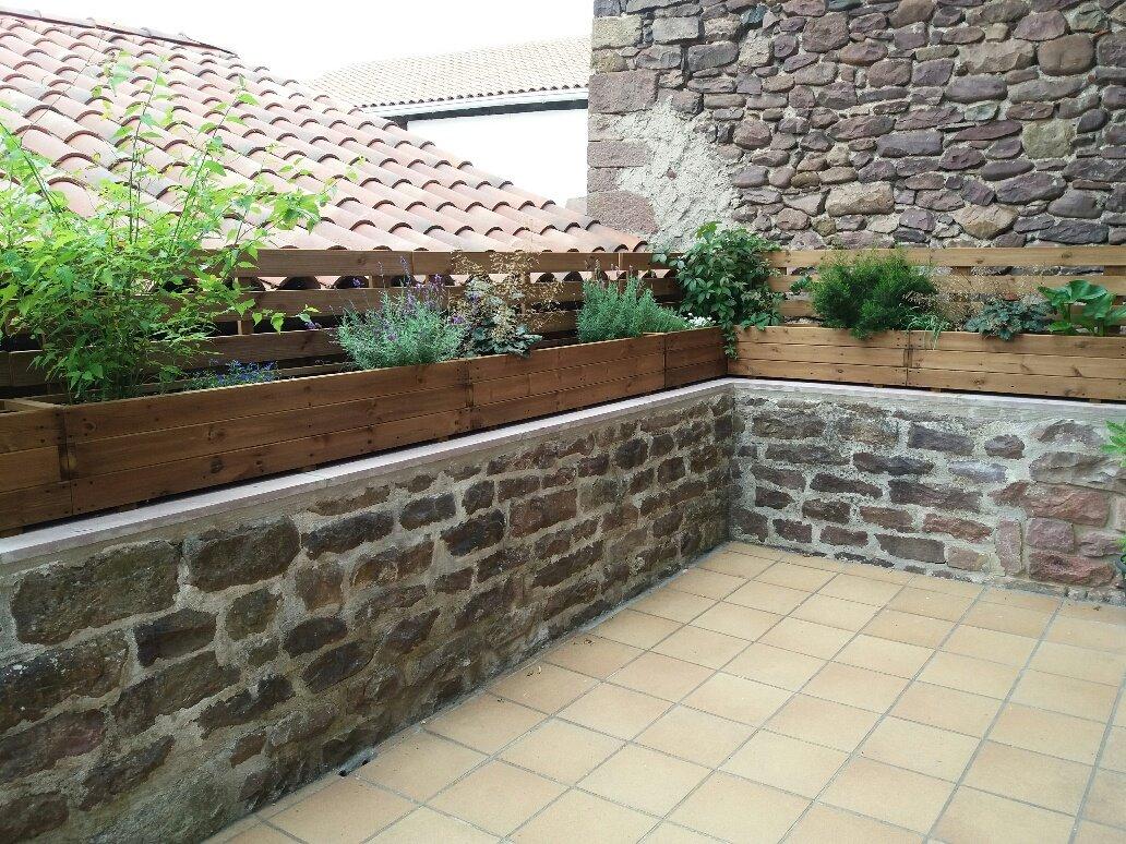 Terraza rustica for Terrazas rusticas en madera