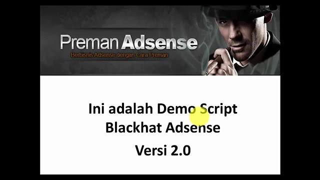Download Script Preman Adsense Versi 2.0 Gratis