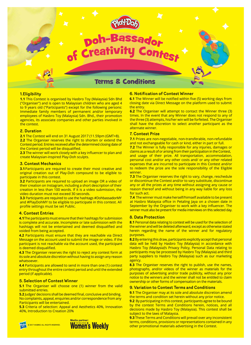 Misi Mencari Doh-Bassador Of Creativity , play doh, children creativity, aktiviti anak-anak kreatif, kreativiti anak-anak
