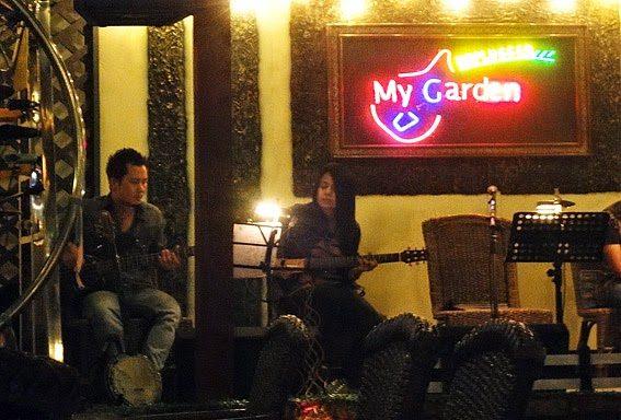 My Garden Music Lounge Life in the night
