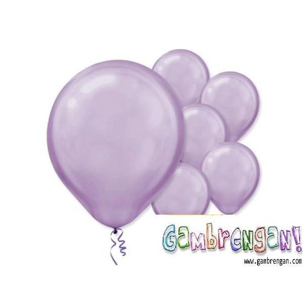 Balon Dekorasi Ungu Pastel