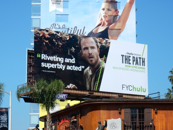 The Path Emmy 2016 consideration billboard