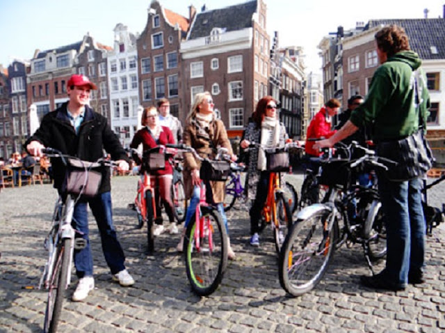 Tours de bike em Amsterdã