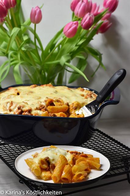 Rezept für Rigatoni al Forno im Bäker Pampered Chef®