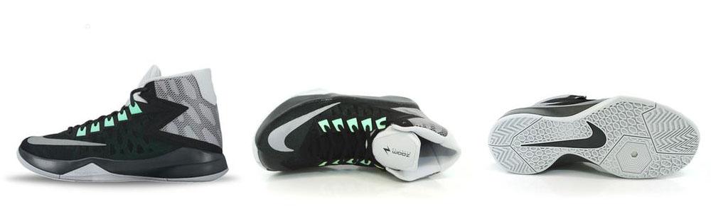 Sepatu Basket Nike Zoom Devosion Black Original