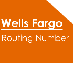wells Fargo routing number California