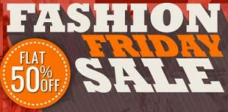Fashion Friday: Upto 77% Off + Flat 50% Extra Discount on Clothing / Footwear & Accessories @ HomeShop18 (Free Home Delivery & No Extra Tax / VAT)
