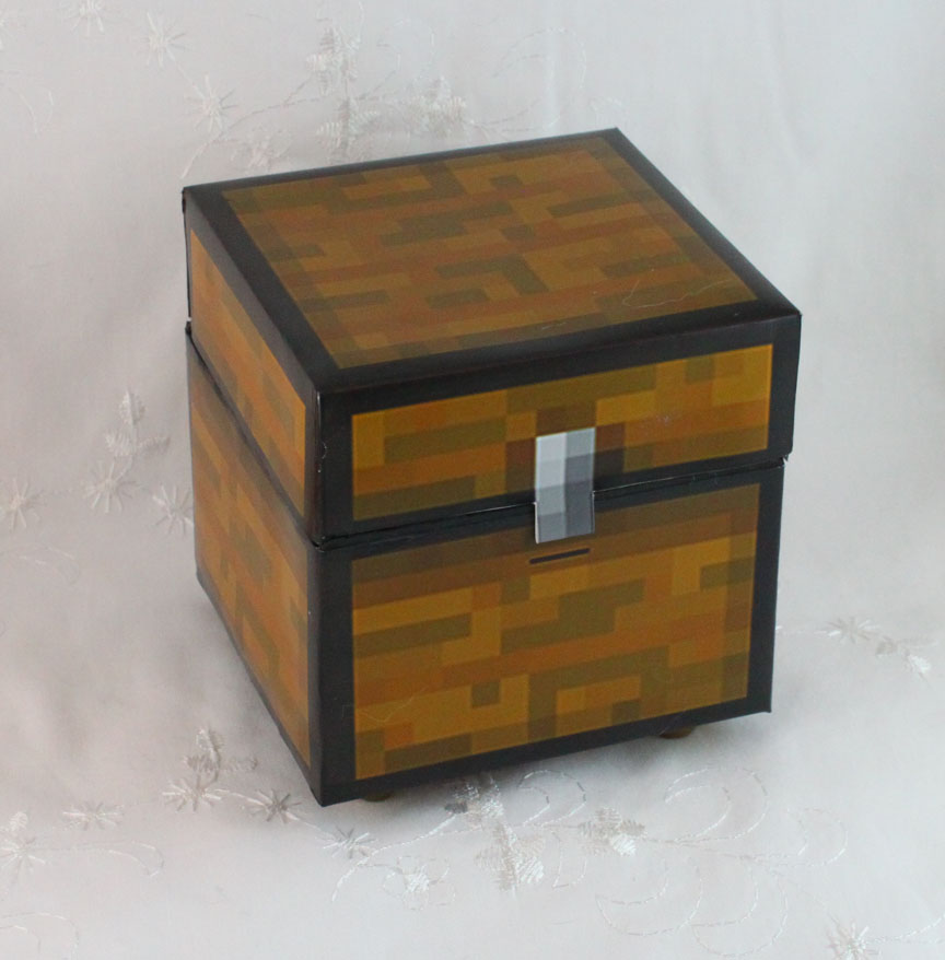 A Sweet Lolita in Debt: Minecraft Chest Purse for PAX East ...