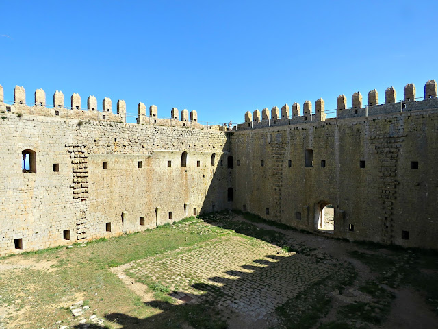 Inside Toroella de Montgrí Castell