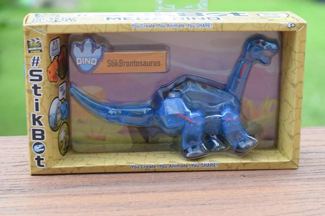 #Stikbot Mega Dino - StikBrontosaurus