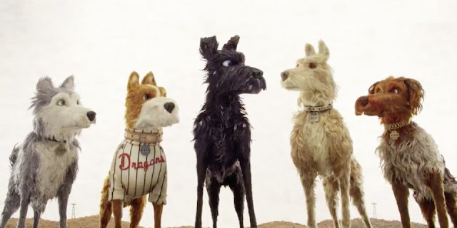 """Bryan Cranston leads a pack of tender beasts in Wes Anderson's """"Isle of Dogs"""""""