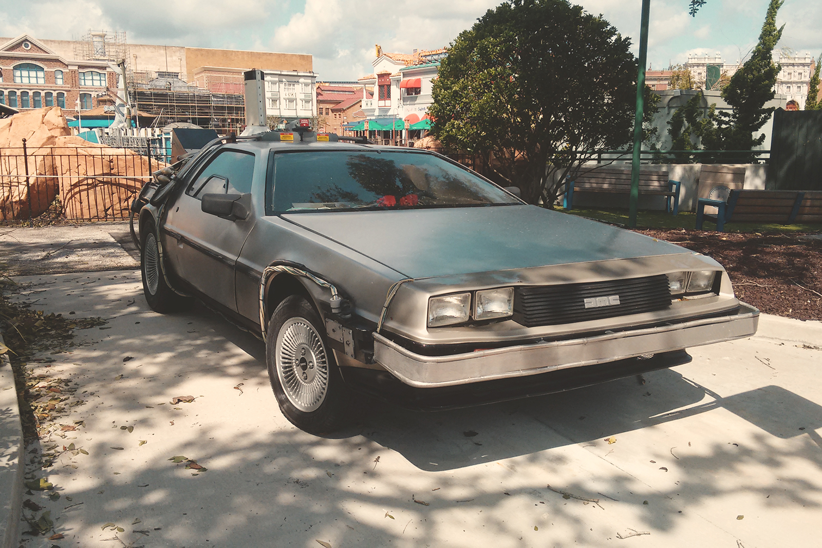 carro-delorean