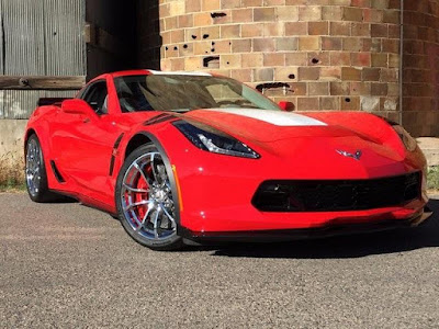 2017 Chevrolet Corvette with Performance Brakes at Purifoy Chevrolet